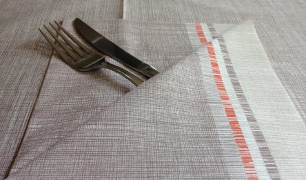 table cloth and napkin